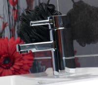 Jupiter Haze Chrome Mono Waterfall Tap Basin Mixer Bathroom Tap From Jt Spas